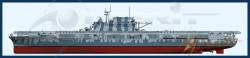 USS Hornet CV-8 - Aircraft Carrier - 1/200