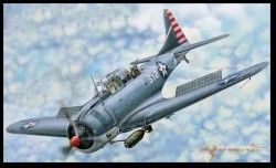 Douglas SBD-3 Dauntless - 1:18