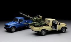 Pick Up mit ZU-23-2 - 1:35