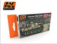 1937 - 1944 German War Colors (6 acrylic colours)