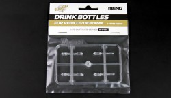 Drinking Bottles for Vehicles / Diorama - 1/35