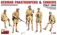 German Paratroopers and Tankers Italy 1943