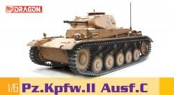 German Panzerkampfwagen II Ausf. C - Sd.Kfz. 121 - 1/6