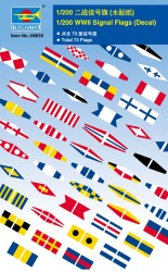 WWII Signal Flags (Decal) - 1/200