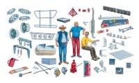 Truck Accessories - Set I - 1/24