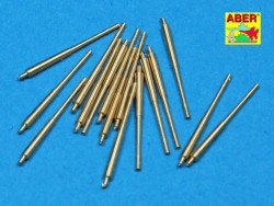 10,5cm Barrels C/33 for C/31 mount DKM - 16pcs - 1/350