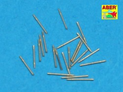 2,0cm L/65 Barrels for C/38 mount DKM - 20pcs - 1/350