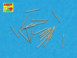 2,0cm L/65 Barrels for MG C/30 mount DKM - 20pcs - 1/350