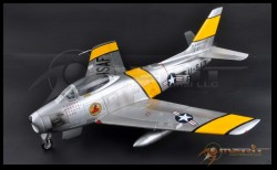 US Air Force F-86F Sabre Jet - Finished / Pre-Build Model - 1/18