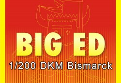 Big Ed Photo-Etched Parts Set for 1/200 DKM Bismarck - Trumpeter 03702 - 1/200