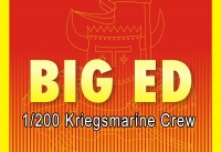 Big Ed PE Set for 1/200 Kriegsmarine Figures - pre painted - 1/200