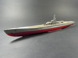 Wooden Deck for 1/350 IJN I-400 - Tamiya 78019