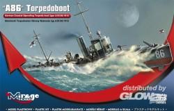 Deutsches Küstentorpedoboot A86 A/III Klasse - 1:350