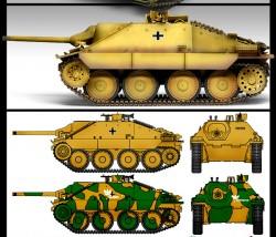 Jagdpanzer 38(t) Hetzer - Early Version - 1/35