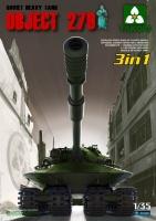 Sowjetischer schwerer Panzer Objekt 279 3in1