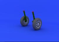 F4U-1 Corsair Räder / Wheels für Tamiya 60324 - 1:32