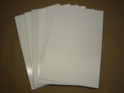 Polystyrene Plates 3,0mm, white.