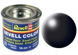 Revell 302 Schwarz RAL 9005 - Seidenmatt