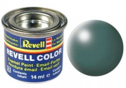 Revell 364 Leaf Green RAL 6001 - Semi Gloss