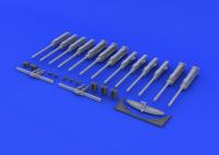 B-17G Guns for 1/32 HK-Models M01E04