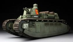 Französischer Durchbruchpanzer Char 2C - 1:35