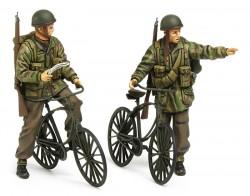 Britische Fallschirmjäger mit Fahrrädern / Parabikes - 1:35