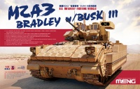 US Infantry Fighting Vehicle M2A3 Bradley mit Busk III - 1:35