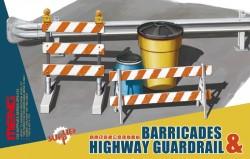 Barrikaden & Leitplanken Set - 1:35