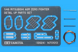 Mitsubishi A6M Zero - Fighter Detail Up Parts Set - 1/48