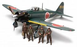 Mitsubishi A6M5/5a Zero - Fighter (Zeke) - 1:48