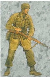 German Fallschirmjäger / Paratrooper - Monte Cassino 1944 - 1/16