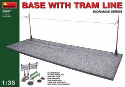Base with Tram Line - 1/35
