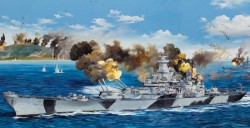 US Navy Battleship BB-61 USS Iowa - 1:200