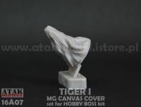 MG mit Staubschutzabdeckung Tiger I 1:16 - Hobby Boss 82601