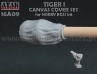 Set Staubschutzabdeckung Tiger I 1:16 - Hobby Boss 82601