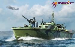US Navy Elco 80 PT Boat - Motor Patrol Torpedo Boat - 1:48