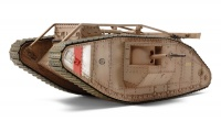 British Mk. IV Male Tank WWI - Motorisiert - 1:35