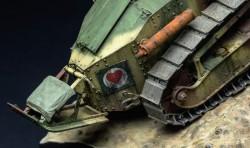 Französischer leichter Panzer Renault FT-17 - Riveted Turret - 1:35
