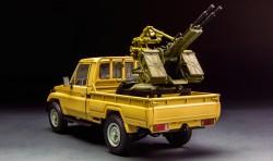 Pick Up mit ZPU-2 - 1:35