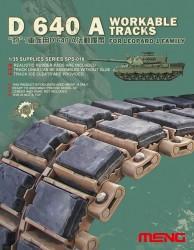 D 640A Bewegliche Einzelgliederkette für Fahrzeuge der Leopard 1 Familie - 1:35