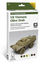US Vietnam Olive Drab - AFV Painting System