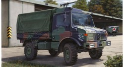 Bundeswehr LKW Unimog 2t. tmil gl