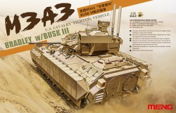 US Cavalry Fighting Vehicle M3A3 Bradley with Busk III - 1:35