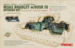 Set Inneneinrichtung für CFV M3A3 Bradley with Busk III - 1:35