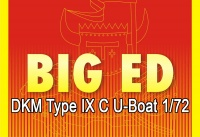 Big Ed Photo-Etched Parts Set for 1/72 DKM U-Boat Type IX C - Revell 05114 - 1/72