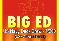 Big Ed PE Set - 1/200 USN Figures - 1/200