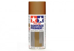 Tamiya Fine Surface Primer L for Plastic & Metal - Oxide Primer Red - 180ml