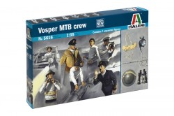 Vosper MTB Crew and accessories - 1/35