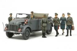 Steyr 1500A Kommandeurwagen mit 7 Figuren - 1:35