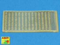 Track Link Casting Numbers for 1/16 Pz.Kpfw. 38(t) - Panda Hobby 16001